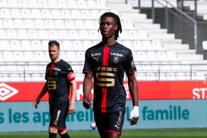 Eduardo Camavinga Talento Futuro Gabriel Veron Rennes