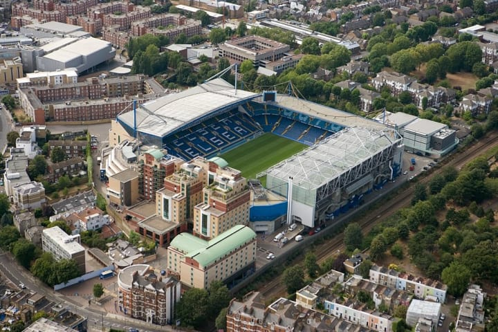 Stamford Bridge Football Ground, London, 2006
