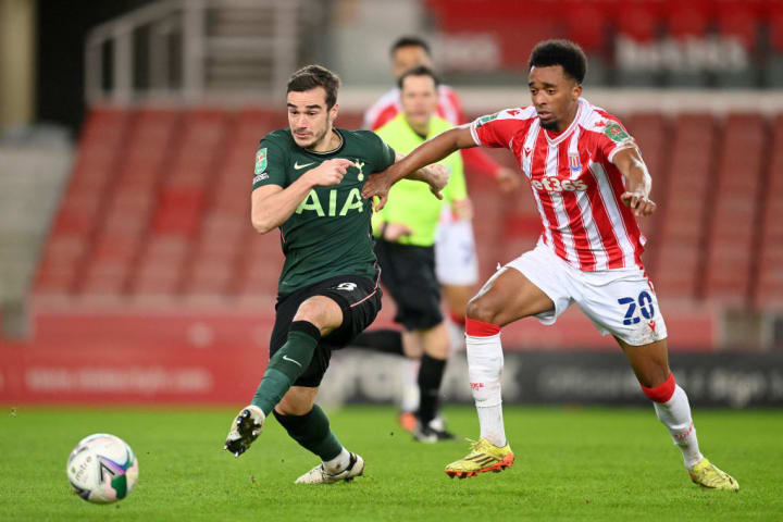 Winks has found himself in the second string Carabao Cup side at times this season