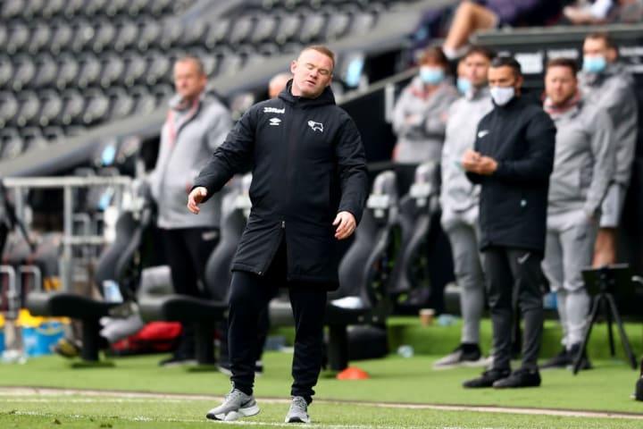Wayne Rooney's side still aren't safe