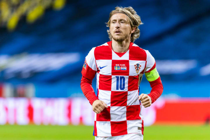 Modric was outstanding for Croatia at the 2018 World Cup