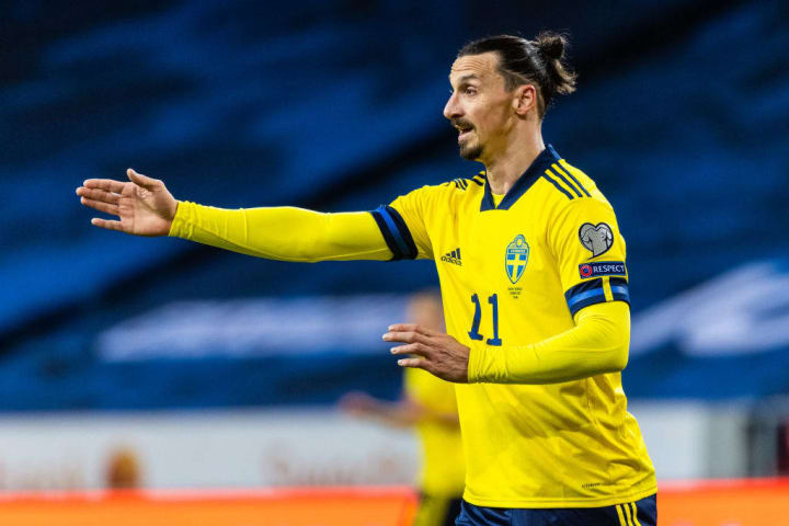 Zlatan Ibrahimovic Suécia Eurocopa Título