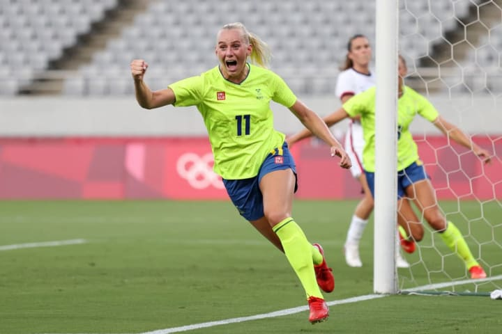 Sweden have been fancied since thrashing USA on matchday 1
