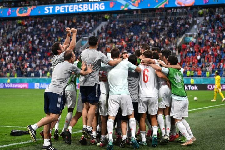 Swiss v Spanyol - UEFA Euro 2020: Perempat final