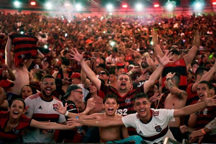 flamengo maracana fans