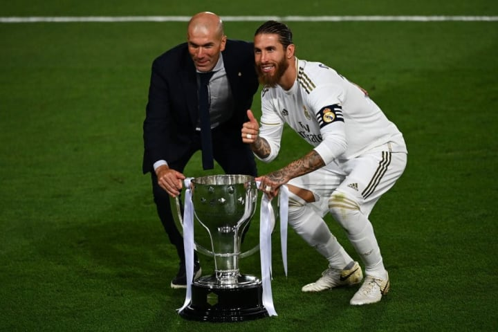 Zidane has won plenty of trophies during his time as Madrid coach