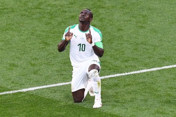 Sadio Mané Atacante Craque Senegal Título Liverpool