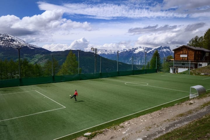 Ottmar Hitzfeld Stadium Suíça Cenário Visual