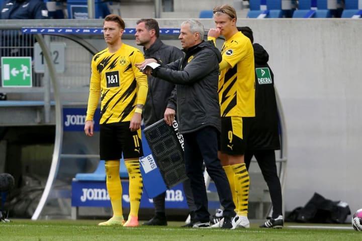 Marco Reus, Lucien Favre, Erling Haaland