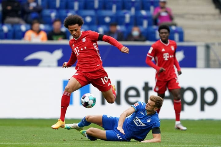 Leroy Sané couldn't replicate his stunning debut display from last weekend