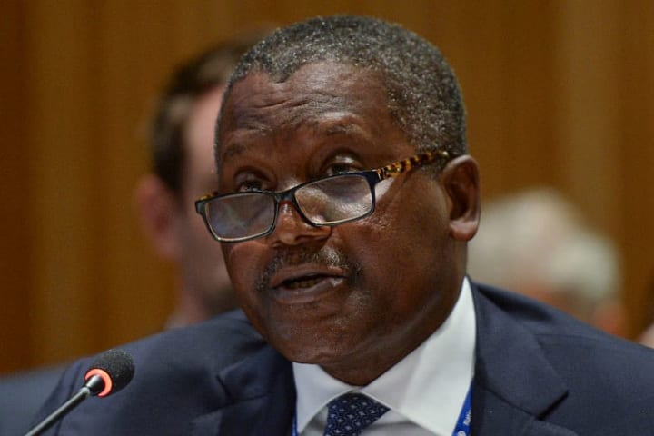 Dangote has frequently spoken about Arsenal over the years