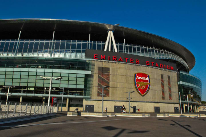 The Emirates Stadium in Ashburton Grove, north London, is the home of Arsenal Football Club. The stadium opened in July 2006, and has an all-seated capacity of 60,432, making it the second largest stadium in the Premiership after Manchester United's Old