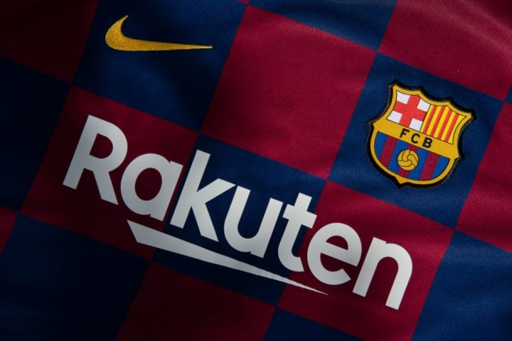 The FC Barcelona Club Badge