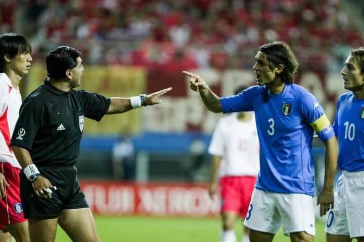 Byron Moreno, Paolo Maldini