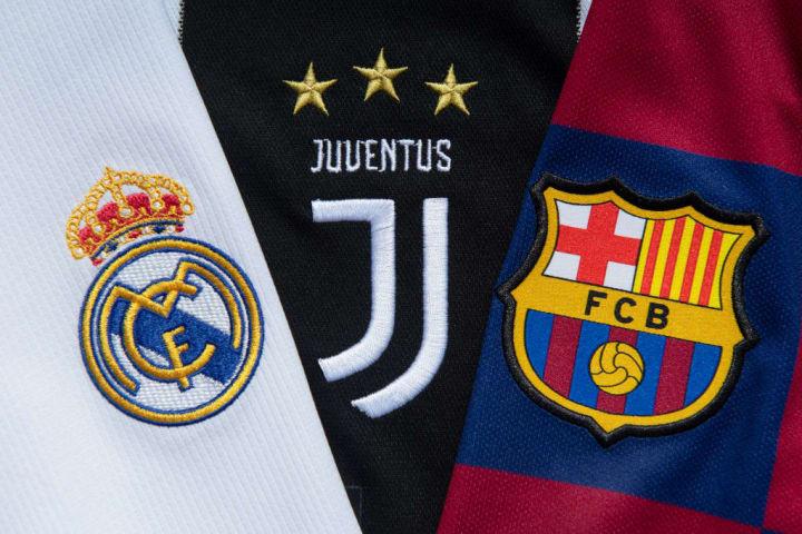 Real Madrid, Juventus, Barcelona