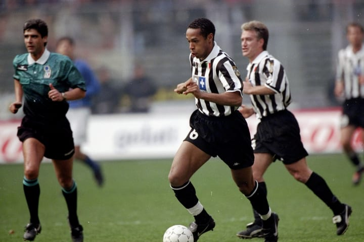 Thiery Henry of Juventus