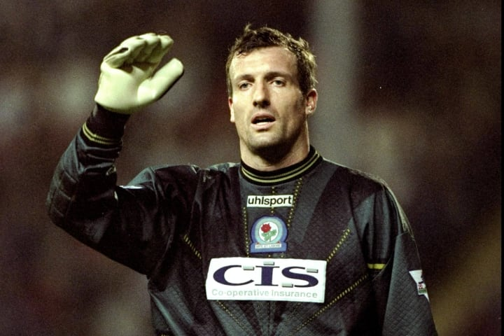 Tim Flowers of Blackburn Rovers