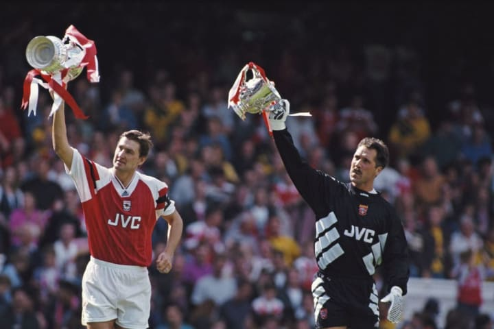 Tony Adams, David Seaman