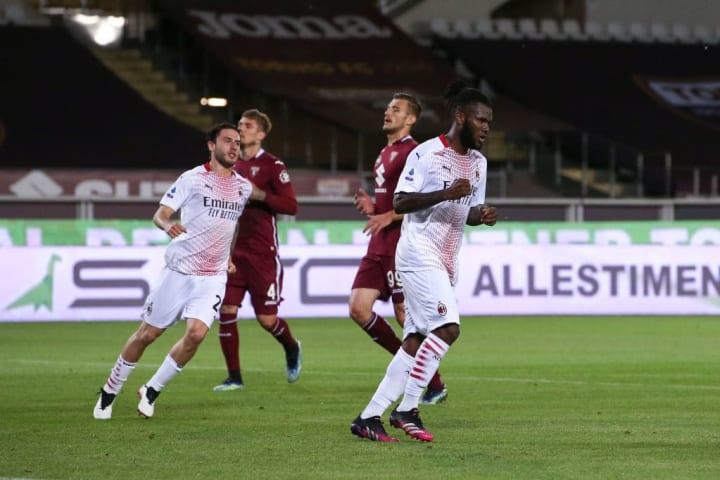 Franck Kessie, Davide Calabria, Alessandro Buongiorno, Lyanco