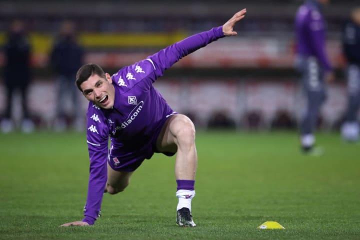 Milenkovic has made 20 Serie A appearances this season
