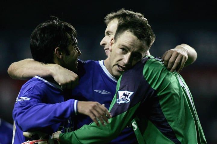 Paulo Ferreira, John Terry, Petr Cech