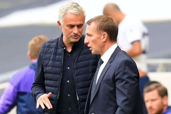 José Mourinho, Brendan Rodgers
