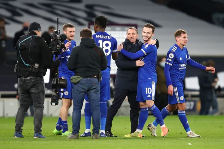 Leicester were delighted after the final whistle
