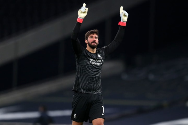 Alisson made some big saves early on