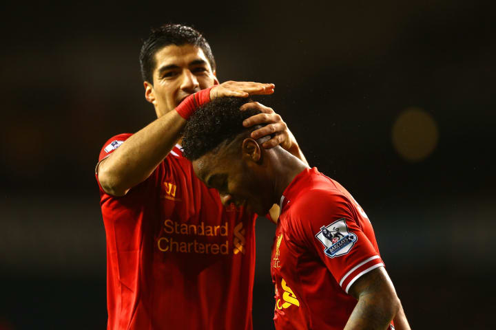 Sterling and Suarez were a deadly partnership under Brendan Rodgers