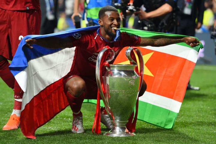 Wijnaldum has won the Champions League and Premier League with Liverpool