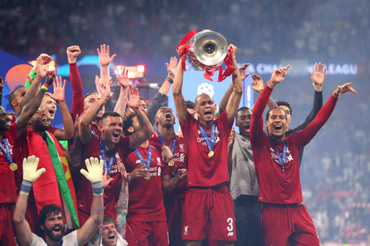 Fabinho played in the 2019 Champions League final
