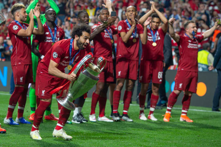 Salah opened the scoring as Liverpool beat Spurs in the 2019 final