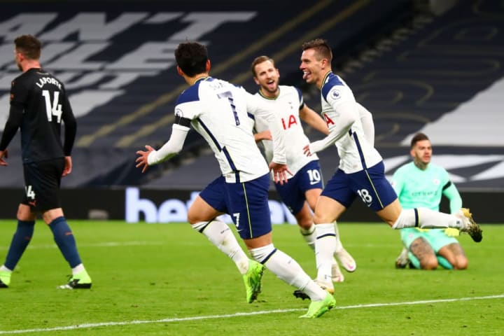 Son Heung-min and Harry Kane showed City what they are missing with a clinical attacking display