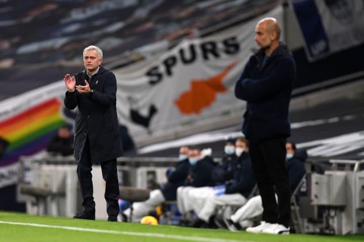 José Mourinho, Pep Guardiola