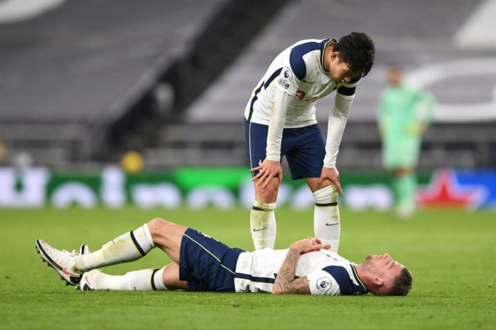 Toby Alderweireld is out of action for a few weeks
