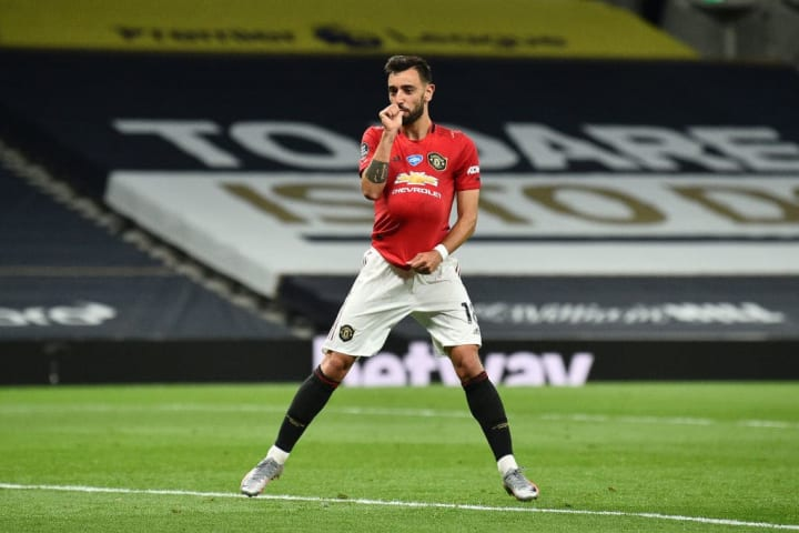 Bruno Fernandes wasted no time in settling in to his new home