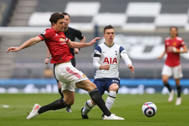 Giovani Lo Celso, Harry Maguire