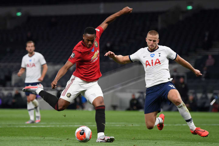 Anthony Martial, Eric Dier