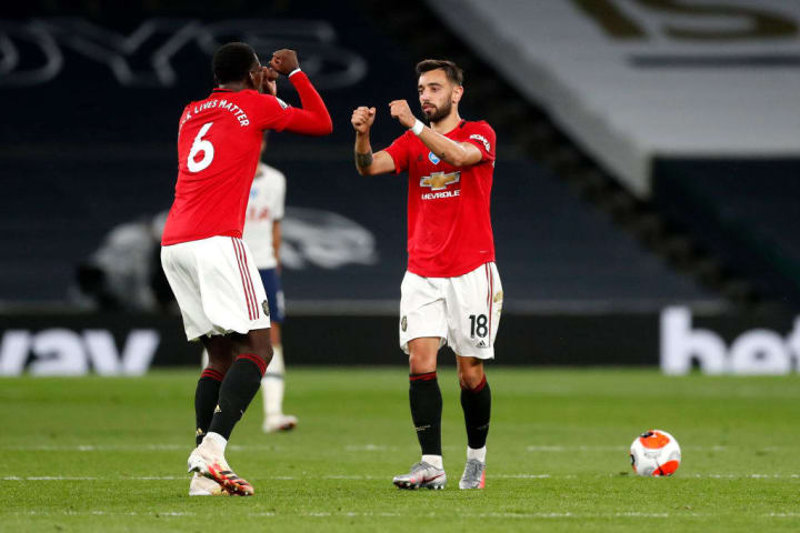 Paul Pogba and Bruno Fernandes - the partnership everyone couldn't wait to see
