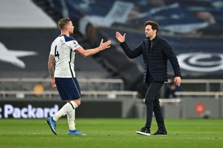 Ryan Mason has stepped in for Jose Mourinho as Tottenham manager