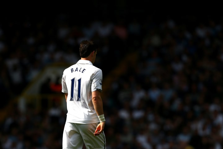 Bale left Tottenham in 2013