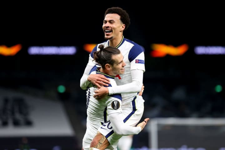 Two men who have scarcely featured for Spurs this season