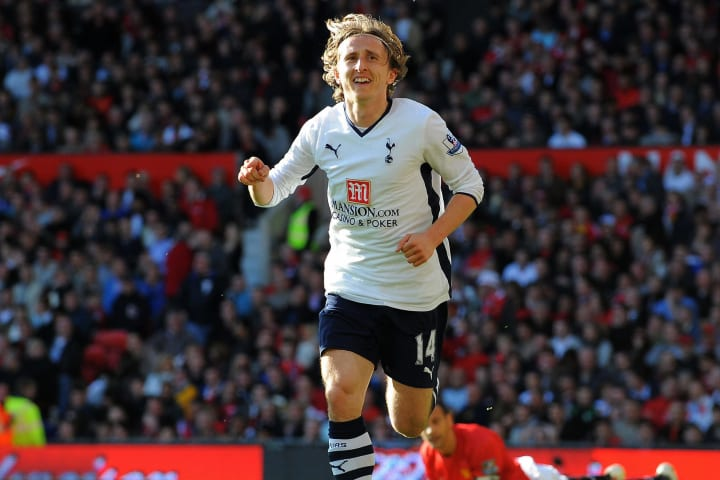 Tottenham Hotspur's Croatian midfielder