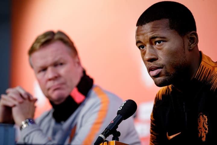 Koeman and Wijnaldum worked together with the Netherlands national team