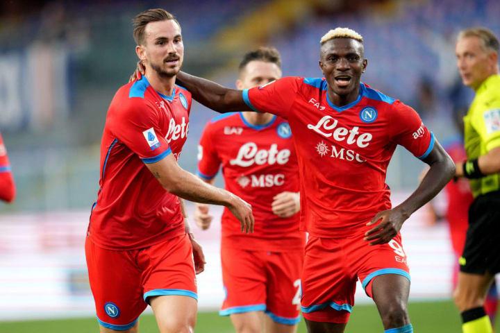 Fabian Ruiz Victor Osimhen Napoli Campeonato Italiano