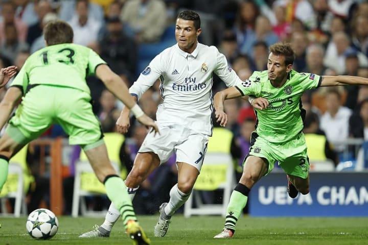 """UEFA Champions League - """"Real Madrid v Sporting Club de Portugal"""""""