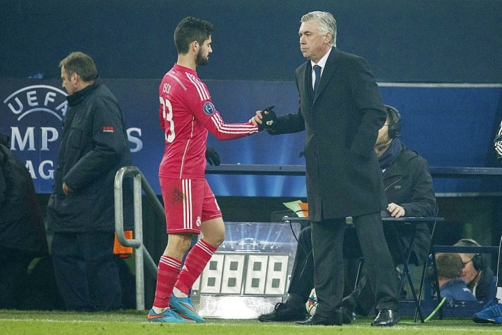 Isco and Ancelotti began their time at Real at the same time. Ancelotti is a fan of the player and played him more than any other Real coach has since