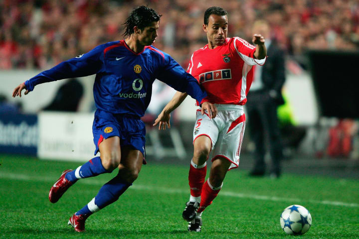 Defeat to Benfica in 2005 saw United finish bottom of the group
