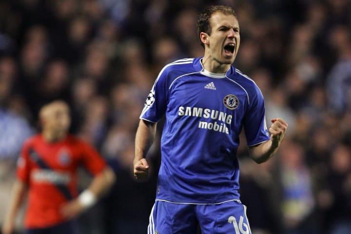 Arjen Robben was amongst the goals as Chelsea beat Porto 2-1 in March 2007