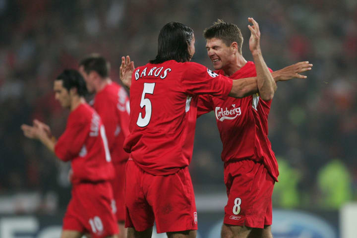 Steven Gerrard, Milan Baros